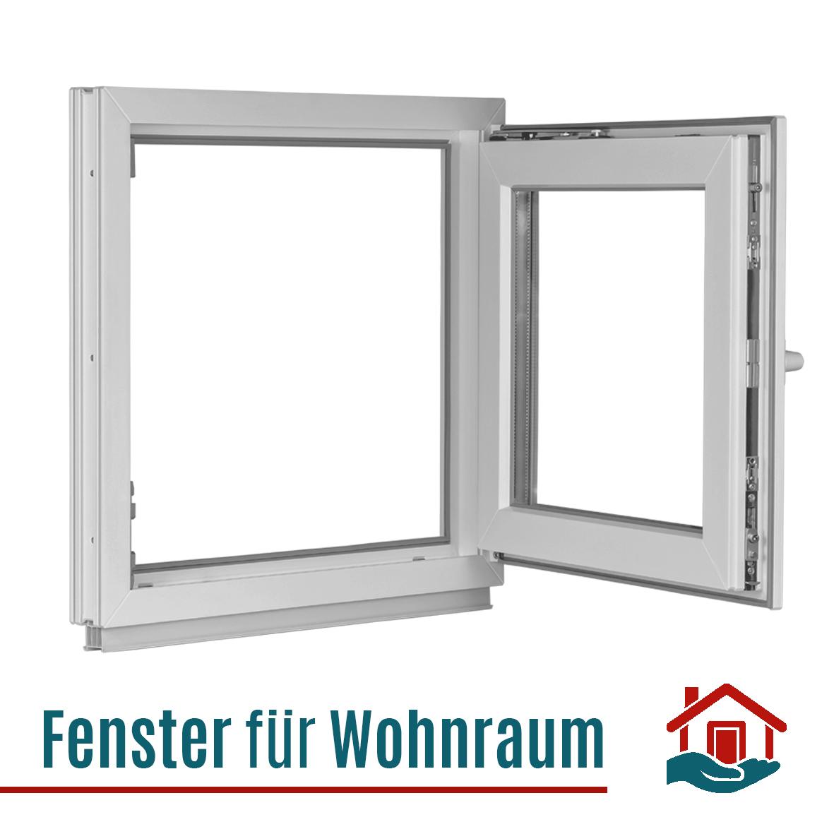 Breite: 95 cm Wei/ß 2 Fach Verglasung FIB BxH: 95x40 cm Fenster Kellerfenster Festverglasung Premium