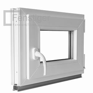 kunststoff fenster kellerfenster mit griff dreh kipp 2 fach verglast winkhaus ebay. Black Bedroom Furniture Sets. Home Design Ideas