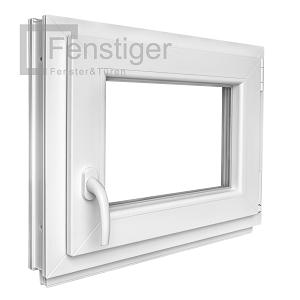 Kunststoff fenster kellerfenster mit griff dreh kipp 2 fach verglast winkhaus ebay for Kunststofffenster kellerfenster