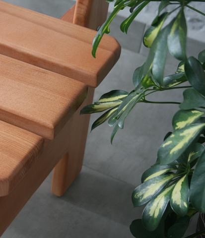 kiefer holzbank sitzbank 4 sitzer gartenbank 200x54 cm gartenm bel naturfarbe ebay. Black Bedroom Furniture Sets. Home Design Ideas