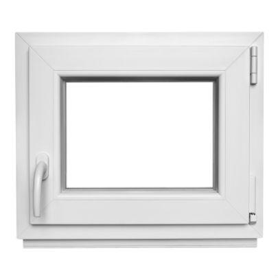 Kunststofffenster kellerfenster mit griff 50x40cm 2 fach verglast lagerware ebay for Kunststofffenster kellerfenster